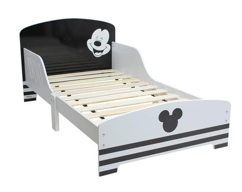 מיטת מעבר מיקי שחור לבן