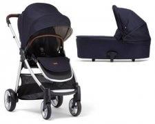 עגלת תינוק מאמאס אנד פאפאס ארמדילו פליפ XT² צבעג'ינס כחול כהה