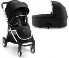 עגלת תינוק מאמאס אנד פאפאס ארמדילו פליפ XT² צבעשחור