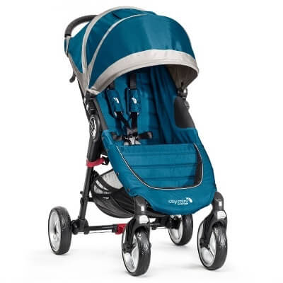עגלת תינוק סיטי מיני City Mini מבית בייבי ג'וגר Baby Jogger בצבע טורקיז
