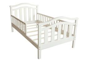 מיטת מעבר עץ מלא לילד דגם נורית