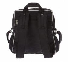 תיק עגלה ביוטי Beauty מבית גיטה בגס Gitta bags בצבע שחור כסף