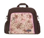 תיק עגלה אידאלIdeal מבית גיטה בגס Gitta bags בצבע חום אביבי