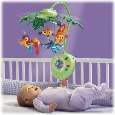 מובייל יער הגשם ומבחר מוצרי תינוקות נוספים