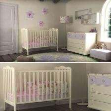 חדר תלתלים ומבחר מוצרי תינוקות נוספים