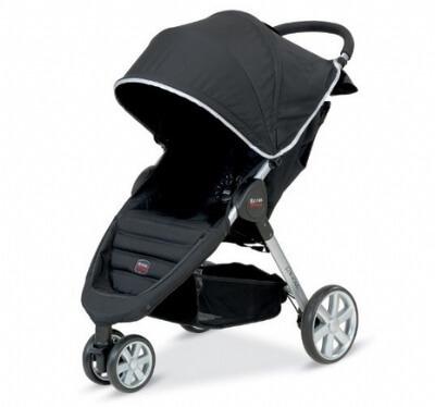 עגלת תינוק בי אג'יל B-Agile מבית ברייטקס Britax בצבע שחור