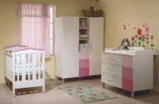 מיטה מרסיי שידה פריס וארון מונקו ומבחר מוצרי תינוקות נוספים