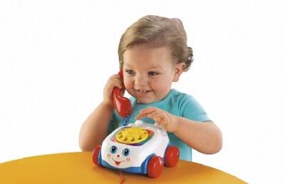 צעצוע הטלפון הראשון שלי מבית פישר פרייס Fisher Price