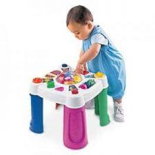 שולחן פעילות מבית פישר פרייס ומבחר מוצרי תינוקות נוספים