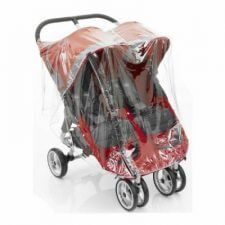 כיסוי גשם לבייבי ג'וגר תאומים ומבחר מוצרי תינוקות נוספים
