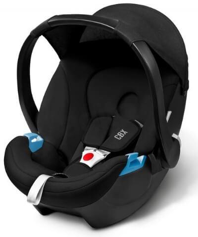 סל קל סייבקס אטון צבע שחור סלקל איכותי ובטוח מבית סייבקס גרמניה מתחבר למרבית עגלות התינוק