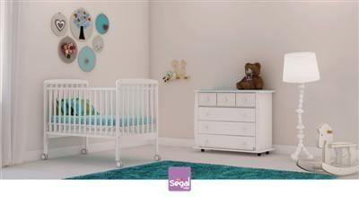 חדר לתינוק סתיו ברשת חנויות בייבי לאב בעיצוב נקי ומודרני המתאים לבנים ולבנות.