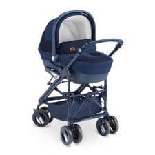 עגלת תינוק קומבי פמילי Combi Family מבית קאם Cam בצבע כחול
