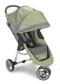 עגלת תינוק סיטי מיני City Mini מבית בייבי ג'וגר Baby Jogger בצבע ירוק