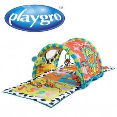 אוניברסיטה לתינוק בשילוב עם מנהרת פעילות דגם Zany Zoo של חברת פלייגרו Playgro  ועוד מבחר מוצרים במחירים אטקרטיביים עכשיו ברשת בייבי לאב מוצרים לאם ולתינוק.