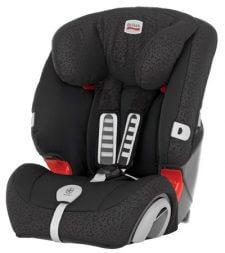 כיסא בטיחות משולב בוסטר ברייטקס אוולבה שחור מבית ברייטקס אירופה Evolva 1-2-3 Plus מושב בטיחות שגדל עם הילד