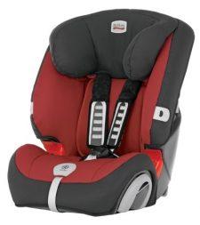 """כיסא בטיחות משולב בוסטר ברייטקס אוולבה אדום Britax Evolva כיסא בטיחות ההופך לבוסטר לילדים ממשקל 9-36 ק""""ג"""
