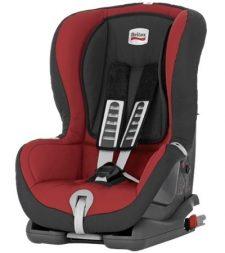 """כיסא בטיחות ברייטקס דו פלוס אדום מבית ברייטקס אירופה לשימוש ממשקל 9-18 ק""""ג מתחבר לרכב בעזרת איזופיקס"""