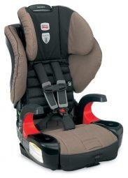 """כיסא בטיחות משולב בוסטר מבית ברייטקס ארה""""ב מתאים מ 9 ק""""ג ועד 49 ק""""ג חיבור באמצעות טכנלוגיה מהפכנית ה Click&Tight"""