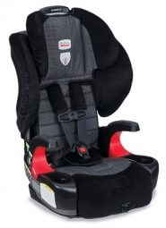 """כיסא בטיחות משולב בוסטר ברייטקס פיונייר 70 שחורBritax Pionner 70 Onyxמתאים ממשקל 9ק""""ג עד 49 ק""""גחיבור לרכב באמצעות איזופיקס/רצועות הרכב"""