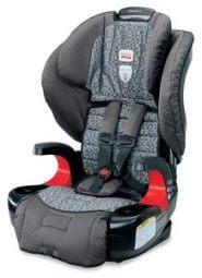 """בוסטר ברייטקס פיוניר 70 צבע אפור Britax Pionner Silver Lineכיסא בטיחות משולב בוסטר מבית ברייטקס ארה""""ב מתאים מ 9 ק""""ג עד 49 ק""""ג"""
