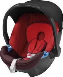 """סלקל לתינוק סייבקס אטון בצבע אדום סלקל איכותי ובטוח מבית סייבקס גרמניהמתאים ממשקל 0-13 ק""""גמתחבר לרכב באמצעות רצועת הבטיחות או בעזרת בסיס לרכב"""