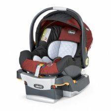 """סלקל לתינוק צ'יקו קי פייט בצבע שחור אדום הסלקל המדובר מבית צ'יקו איטליה מגיע עם בסיס איזופיקס מתכוונן ממשקל 0-13 ק""""ג"""
