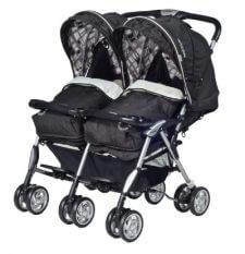 עגלת תאומים בייבי סייף Baby Safe Twin Savvy ומבחר מוצרי תינוקות נוספים