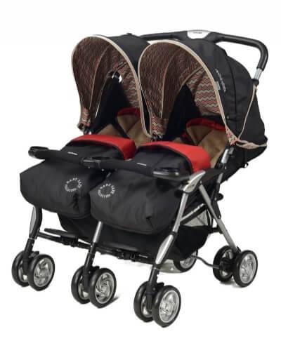 עגלת תאומים Twin Savvy מבית בייבי סייף Baby Safe