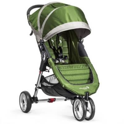 בייבי ג'וגר סיטי מיני 3 גלגלים בצבע ירוקניתן להשתמש מגיל לידהניתן לחבר סלקלים של Cybex