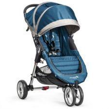 עגלת תינוק בייבי ג'וגר סיטי מיני 3 גלגלים בצבע כחול ניתן להוסיף אמבטיה דה לוקס בצבע תואםניתן לחבר סלקלים של Cybex ו Joie בעזרת מתאמים