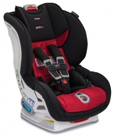 כיסא בטיחות ברייטקס מרתון קליק אנד טייד הזוכה הגדול של מבחני הריסוק האמריקאים ה Consumer Report ציון מקסימאלי של 75 נקודות