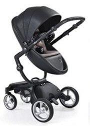 עגלת תינוק מבית מימה קסרי Mima Xari בצבע שחור קלאסי