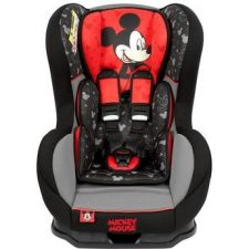 """כיסא בטיחות מיקי מאוס קוסמוכיסא בטיחות מבית נניה צרפת מיוצר בצרפת ומתאים לשימוש מגיל לידה ועד 18 ק""""ג"""