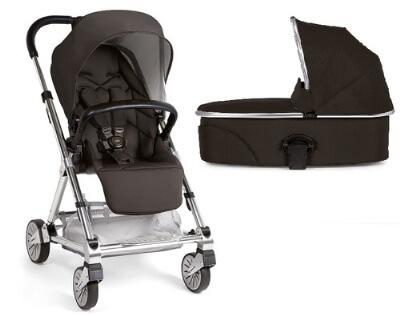 עגלת תינוק אורבו 2 Urbo מאמאס אנד פאפאס Mamas & Papasבצבע שחור