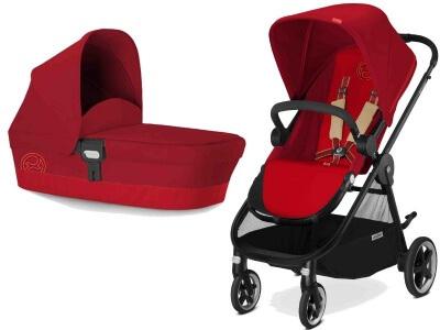 עגלת תינוק איריס Iris מבית סייבקס Cybex בצבע אדום