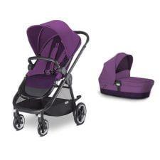 עגלת תינוק איריס Iris מבית סייבקס Cybex בצבע סגול