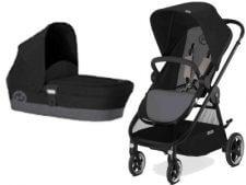 עגלת תינוק סייבקס איריס צבע שחור אפורסייבקס איריס ברשת בייבי לאב העגלה האורבנית מבית סייבקס גרמניה במחיר מעולה ברשת חנויות בייבי לאב
