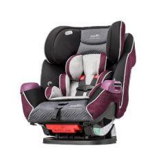 """אוונפלו סימפוני פלטניום כיסא בטיחות משולב בוסטר מבית אוונפלו ארה""""ב המתאים מלידה עד 50 ק""""ג"""