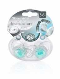 מוצץ לתינוק פיור Pure לגילאי 3-6 חודשים מבית טומי טיפי Tommee Tippee