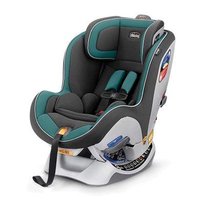 כסא בטיחות צ'יקו נקסטפיט ירוק אפור ברשת בייבי לאב