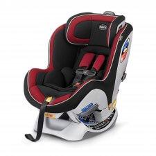 כסא בטיחות צ'יקו נקסטפיט אדום שחור ברשת בייבי לאב