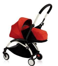 עגלת תינוק יויו פלוס ניובורןYoyo Plus Newbornמבית בייביזן Babyzen בצבע אדום