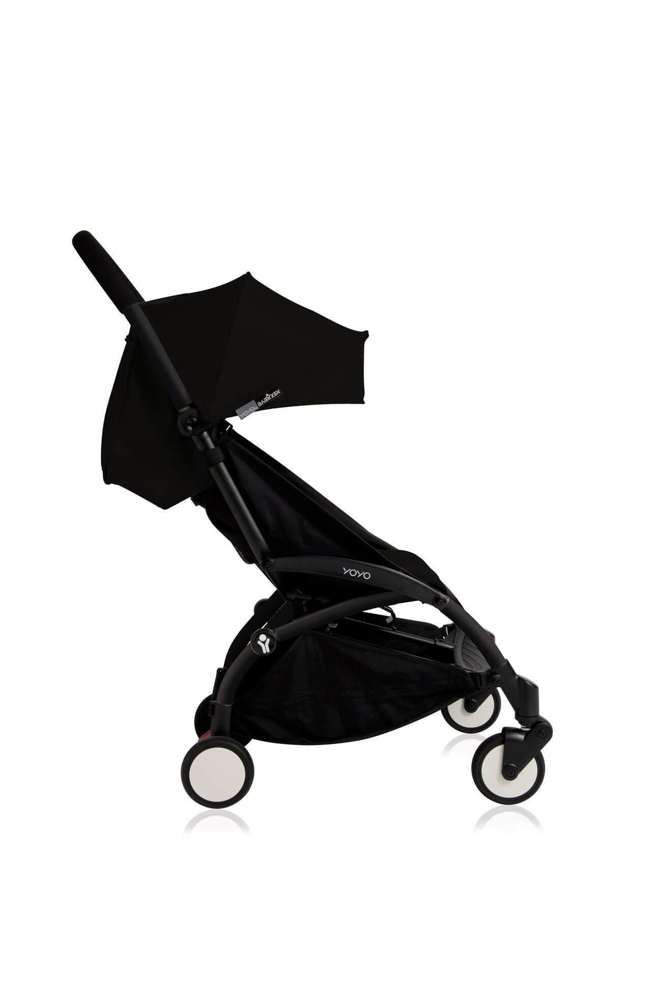 טיולון לתינוק יויו פלוס Yoyo Plus מבית בייביזן Babyzen בצבע שחור