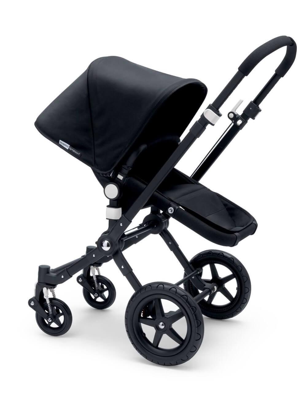 עגלת תינוק + טיולון קמיליון 3 אול בלאקCameleon 3 All Black מבית בוגבוBugaboo