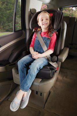 כיסא בטיחות משולב בוסטר גרקו טרנזישן שחור