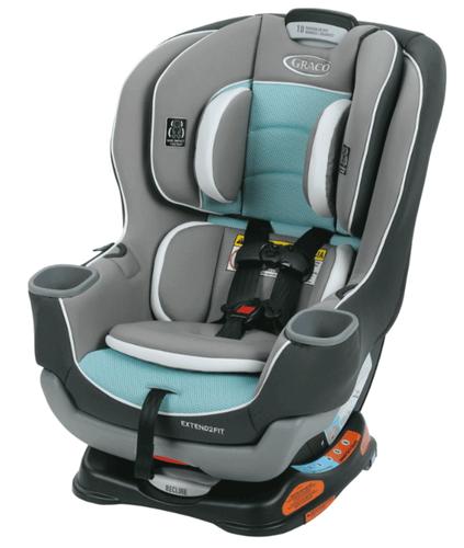 כיסא בטיחות גרקו אקסטנד טו פיט צבע אפור טורקיז