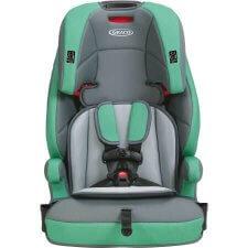 כיסא בטיחות משולב בוסטר גרקו טרנזישן טורקיז