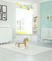 חדר תינוקות ורד טייניס