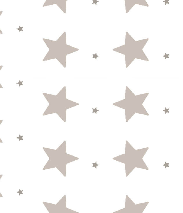 דוגמת כוכבים אפורים גדולים